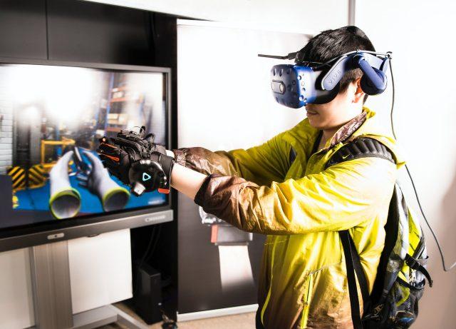 zestaw słuchawkowy VR